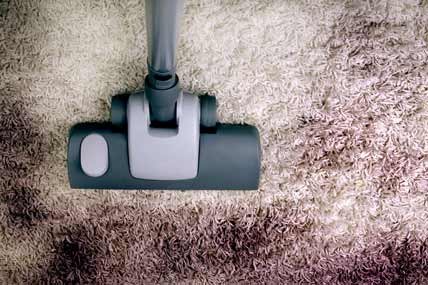 Dirty Areas on Carpets
